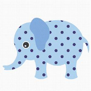 An elephant to delight a baby boy