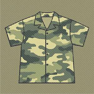 A shirt fit for a soldier.