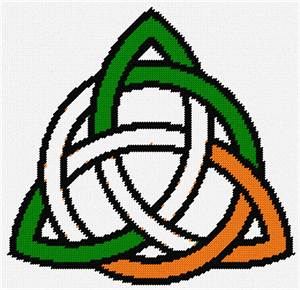Irish celtic knot