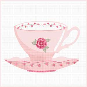 A delicate cup and saucer for your pretty home