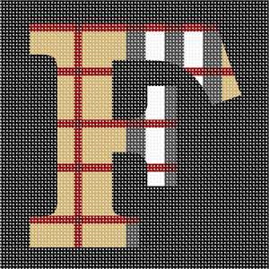"Alphabet in trendy camel tartan pattern. About 100 languages use the same alphabet like in English which makes it one of the most widely used alphabets in the world. While some languages have a few more and others a few less, they all share the 23 core letters originally found in the Roman alphabet. The most commonly used letter is the letter E. The letter J was the most recent letter to be added to the alphabet, appearing in print as a distinct letter for the first time in 1633. A sentence which contains all 26 letters of the English alphabet is called a pangram. A famous pangram is: ""The quick brown fox jumps over the lazy dog."" but there are even shorter ones such as: ""Pack my box with five dozen liquor jugs."" Every letter of the alphabet has a wild, or at least interesting, story, often going back thousands of years. You can look it up on Wikipedia."