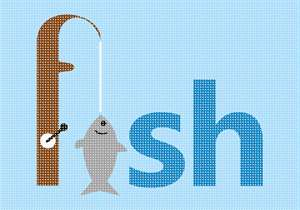 Fish as in fishing
