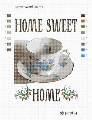 A sweet sign made especially for warm homes. Based on a photo by Lydia Kisch.