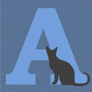 Black cat on your favorite letter of the alphabet. Do you know some good black cat names? Here are some to choose from:Ash.