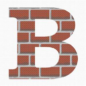 Home sweet home in this brick alphabet series
