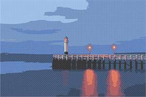 Enjoy the view of this lighthouse from afar