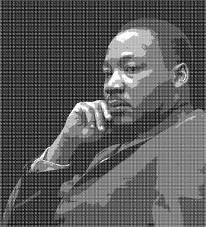 Martin Luther King, Jr., an American minister, was a leader in the Civil Rights movement.