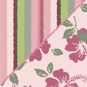Our brand new mauve collection is available in a multitude of stripes, florals, and trellis designs. Ideal for coordinating needlepoint pillows.