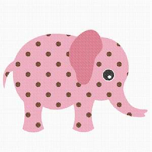 An elephant to delight a baby girl