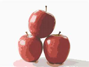 An apple a day... or is it three apples... It turns out that eating an apple a day really does keep the doctor away -- but you've got to eat the peel. And no fair skipping the apple altogether in favor of megadoses of vitamins in pill form. Fruits and vegetables in their natural state are better, Cornell University researchers say.