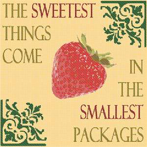 The Sweetest Things Come in the Smallest Packages