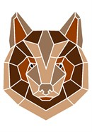 Bear In Geometric
