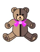 Beginner Teddy Brown Pink