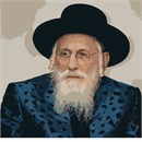 Grand Rabbi Shlomo Halberstam (1906-2000) of blessed memory, leader of the Bobover Hasidim.