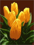 Bunch Yellow Tulips (Large)