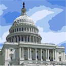The United States Capitol is the meeting place of Congress. It is located in Washington D.C.