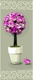 Centerpiece Fuschia