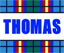 Custom Name Tartan Thomas