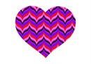 "A heart for all bargello fans. No one knows why the heart is associated with love.  A human heart weighs between 7 and 15 ounces. Our heart beats around 100,000 times a day.  Laughing is good for your heart. A ""broken heart"" can feel like a heart attack."