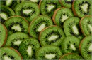 Sliced kiwis so fresh and healthy