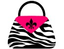 Zebra Fuschia Pocketbook