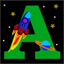 Letter A Space