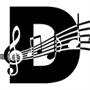 Letter D Music Notes