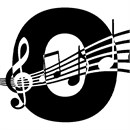 Letter O Music Notes