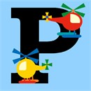 Letter P Helicopter