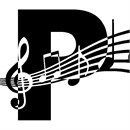 Letter P Music Notes