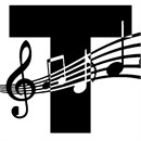 Letter T Music Notes