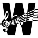 Letter W Music Notes