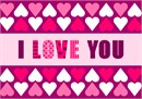 Love Hearts Border