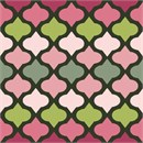 Mauve Colllection Trellis 1