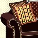 Chocolate Loveseat