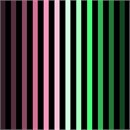 Ombre Colorbars Rose Green