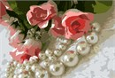 Pearls Flowers