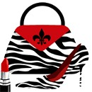 Pocketbook Shoe Zebra