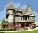 A wonderful example of Queen Anne style architecture, the Rahr West is an art museum in Wisconsin.