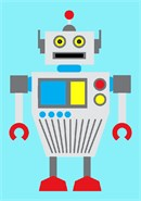 The second robot of the series. Perfect for the savvy little guys