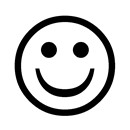 Happy face - the universal symbol of all things positive.