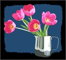 Tulips In Cup