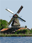 Windmill At The Water