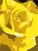 Yellow Rose (Large)