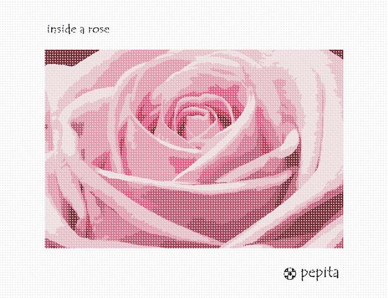 pepita Bicycle Flowers Needlepoint Kit