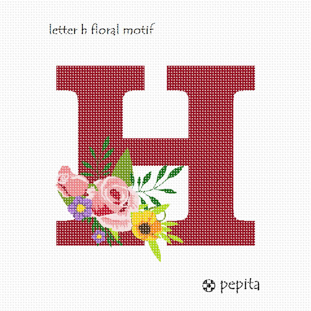 pepita Alphabet Needlepoint Kit