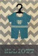 Baby Boy Onesie Personalized