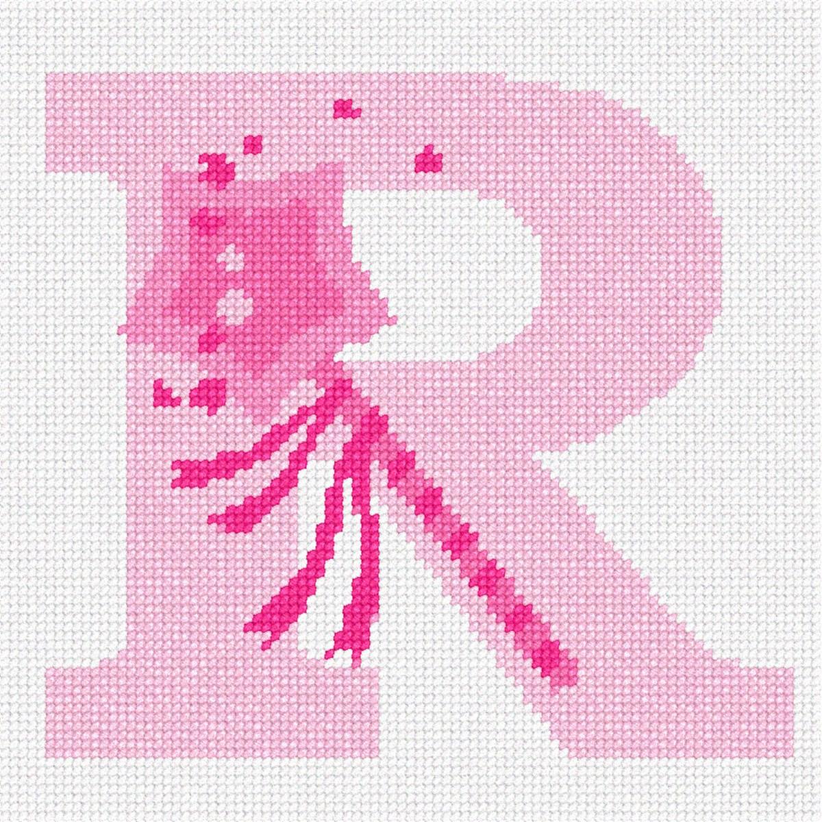 pepita Letter R Illusion Needlepoint Kit